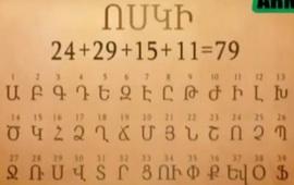 Удивительные особенности армянского алфавита