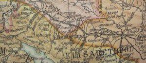 Армения на Британской карте мира