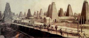 Развитие нефтяной промышленности Баку