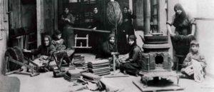 Изготовление тканей в Старой Себастии