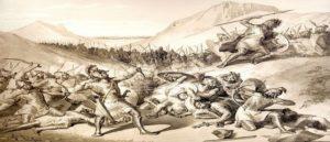 История битвы между Айком и Белом