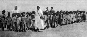 эвакуации армянских детей в период Геноцида