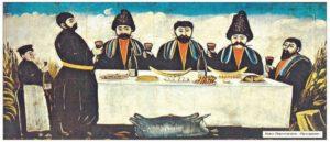 Традиционное угощение в армянском дом