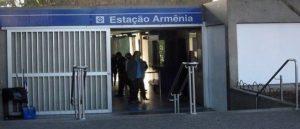 Estação Armênia - В метро Сан-Паулу