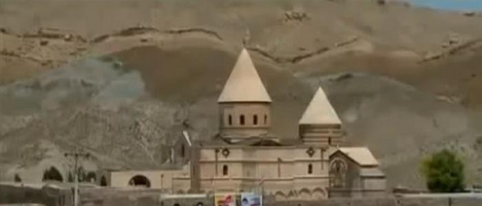 Армянская черная церковь в Иране