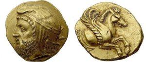 Монета Ерванда I
