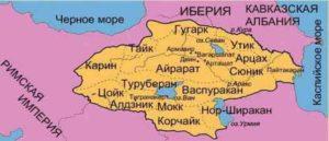 Историческая Армения - Области-Гавары