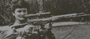 Армянка на войне - Снайпер Маргарит