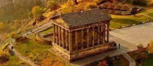 Храм Гарни в древних