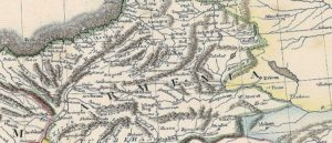 Армения на карте Османской империи