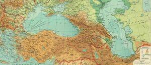 Армения на картах Европы и США