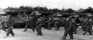 История танковой колонны Сасунци Давид
