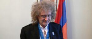 Брайан Мэй - Кавалер Ордена Почета