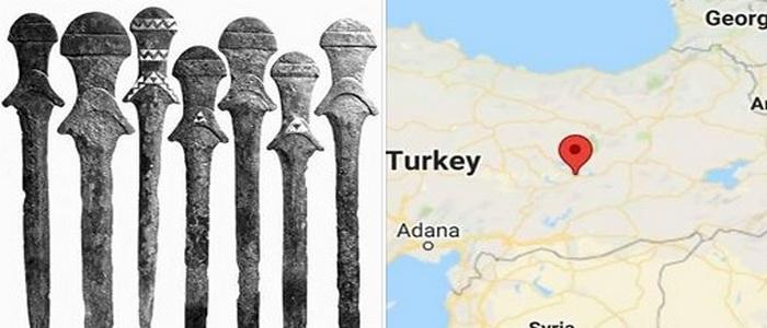 Древнейшие мечи
