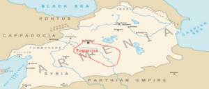 О местонахождении города Тегарама