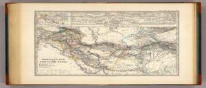 Немецкая карта 1865 г.