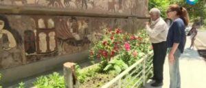 Дом в Армении с картинами из мозаики