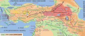 Армянское нагорье - Территория
