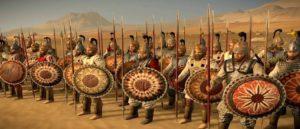 Оружие в национальном костюме армян