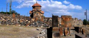 Храм Кармравор - Арагацотн - Армения