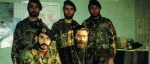 Бойцы отряда Каро Кахкеджяна