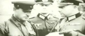 Брест 1939 год - Совместный парад