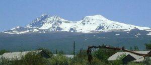 Армянское нагорье - Гора Арагац