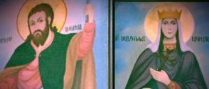 Святая Дева Сандухт - Первая святая