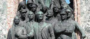 Становление культа личности Ататурка