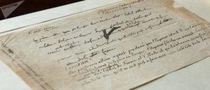 Документ об отречении Наполеона
