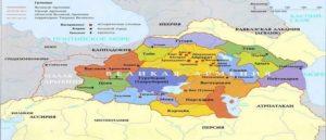 Пятнадцать Ашхаров Древней Армении