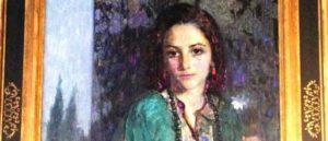 Армянская картина в зале