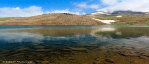 Озеро Кари - На склоне горы Арагац