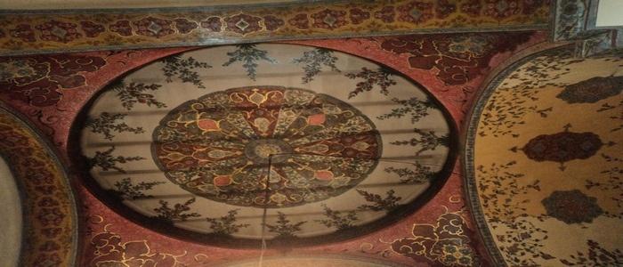 Неизвестная фреска в Соборе Эчмиадзина