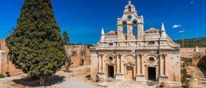 Из истории монастыря Аркади