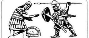 Иллюстрация армянской пехоты