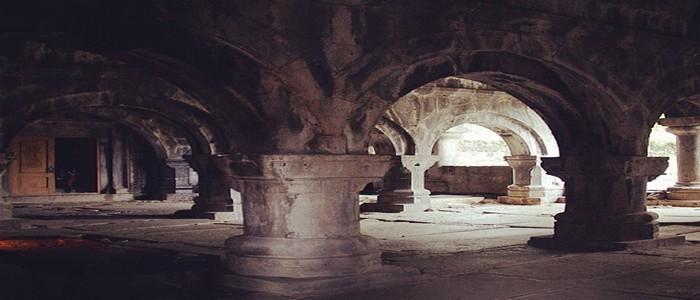 Внутренняя часть монастыря