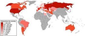 О численности армян в мире