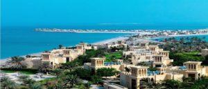 Город Рас-эль-Хайма в Эмиратах