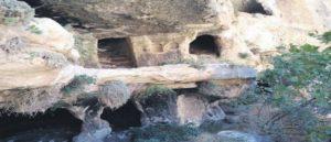 Трехэтажная пещера в Самосате