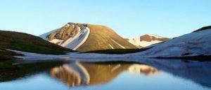 Гегамский хребет в центре Армении