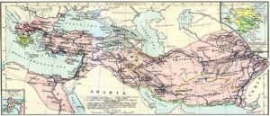 Карта империи Александра Македонского