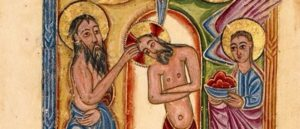 Манускрипт Крещение Христово