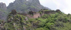 Армения - Бжни - Крепость и церкви