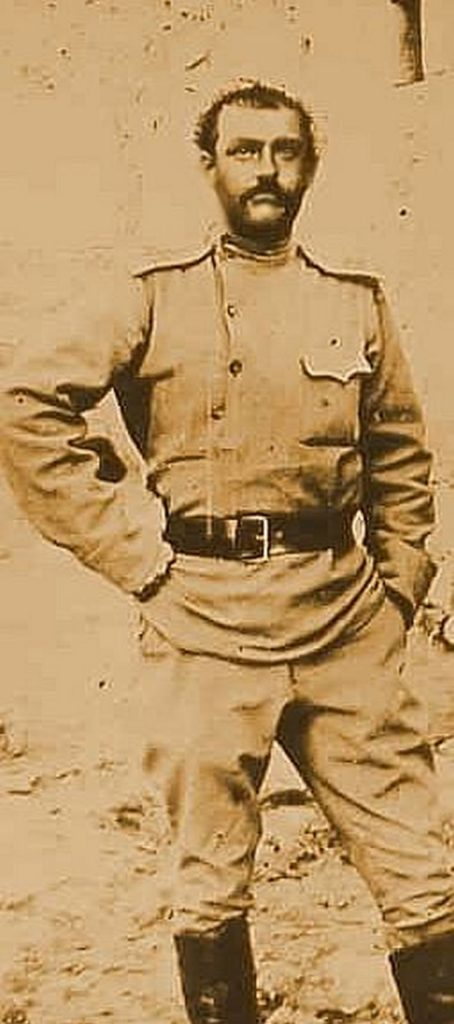Степан Хачатрян, один из героев Сардарапатской битвы, старший офицер армянского корпуса.