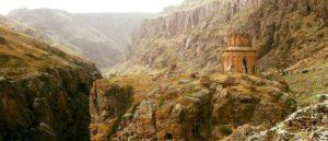 Армянский средневековый монастырь