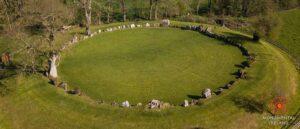 Каменный круг Грандж Лиос - Ирландия