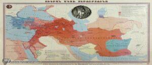 Карта империи Тиграна II Великого