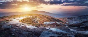 Гора Петрос в Карпатах