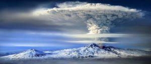 Активность вулкана